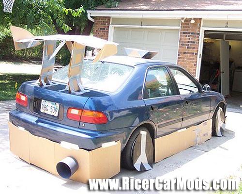 cardboard-bodykit-honda-civic