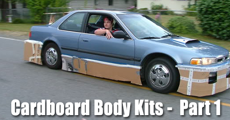 5 cardboard body that will not impress – Part 1