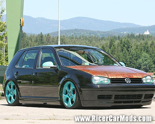 2 trends I dislike, rusty hoods, and colourful rims