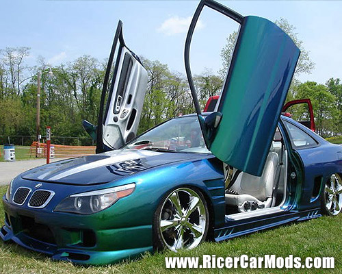 BMW? No its actually a HJonda Civic coupe