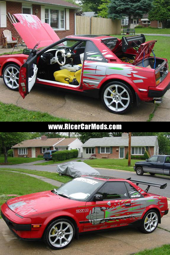 tricked out Mr2