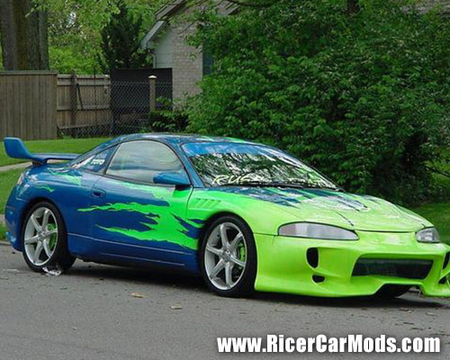 Rice modded mitsubishi eclipse