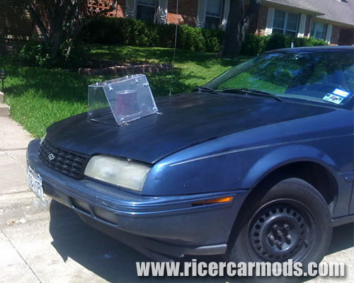 ricer bonnet air filter