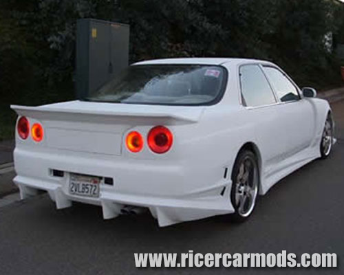Honda Legend to Nissan Skyline conversion 2