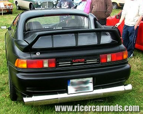 Riced Toyota Mr2