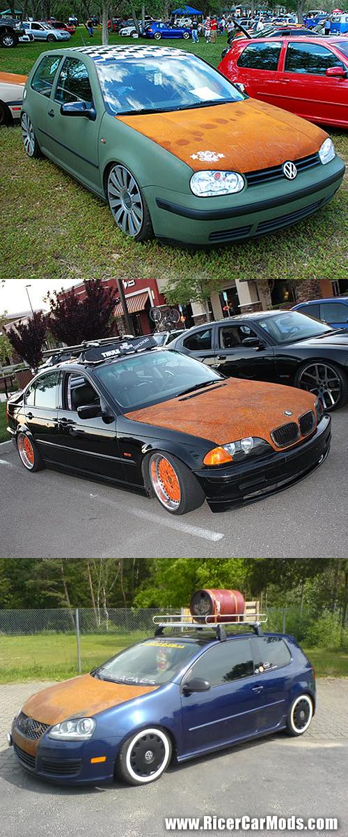 rusty hood ricer