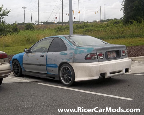 ricer honda civic coupe