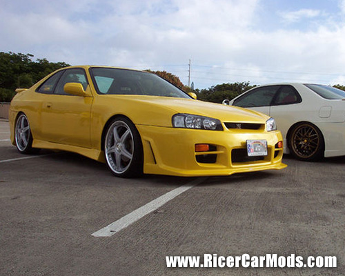 yellow-honda-civic-coupe-r34-skyline-conversion